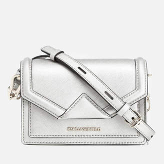 Karl Lagerfeld Women's K/Klassik Mini Cross Body Bag - Champagne