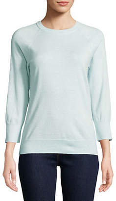 Equipment Desi Cashmere-Blend Crew Neck Sweater