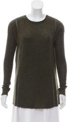 Helmut Lang Wool Long Sleeve Sweater