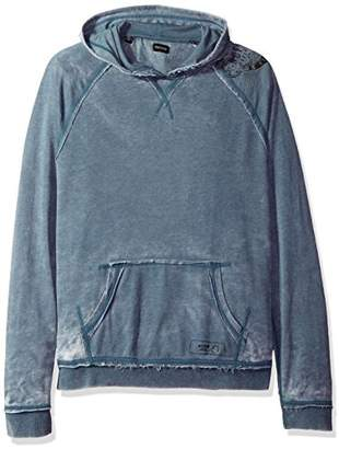Buffalo David Bitton Men's Faboat Pullover Hooded Fashion Lightweight Sweatshirt