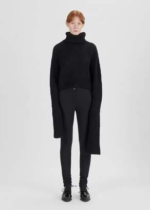 Ann Demeulemeester Wool Legging Trouser Black Jack Black