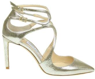 Jimmy Choo Sandal lancer 85 In Champagne Color Leather