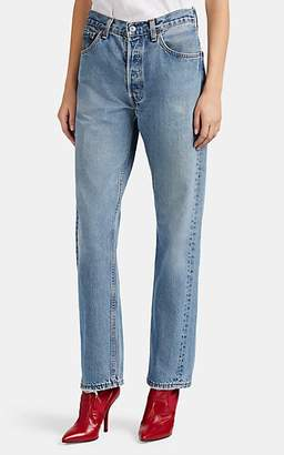 RE/DONE Women's High-Rise Levi's® Jeans - Blue