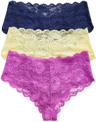 Cosabella Never Say Never Hottie Cheeky Hot Pants 3-Pack NSNPK0372