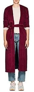 """Mira Mikati Women's """"Late"""" Cotton Velvet Robe Jacket - Purple"""