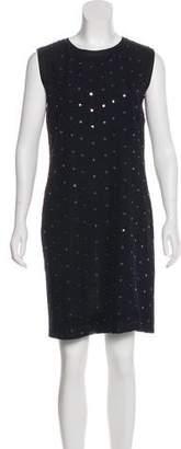 Salvatore Ferragamo Silk Sequin Dress