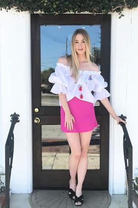 Flynn Skye Fuchsia Mini Skirt