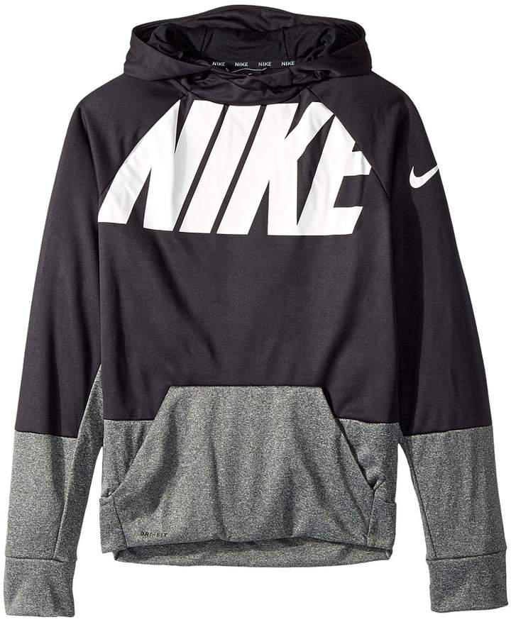 Nike Kids - Therma Pullover Training Hoodie Boy's Sweatshirt