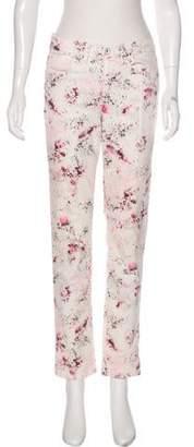 Calvin Klein Paint Mid-Rise Straight-Leg Jeans