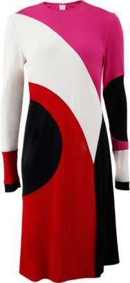 Naeem Khan Colorblock Dress