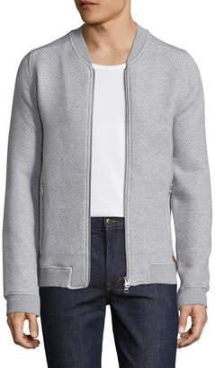 Knowledge Cotton Apparel Striped Jacket