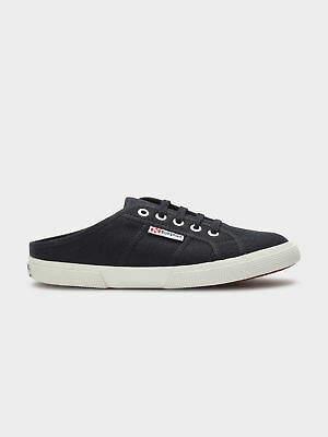 616433366167 Superga New Womens Cotw Mule Slip On Sneakers In Navy Sneakers