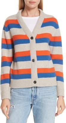 Kule The Remus Stripe Cashmere Cardigan