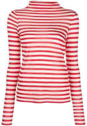 Semi-Couture Semicouture striped longsleeved T-shirt