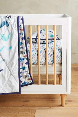Katie Vernon Nautical Navigation Toddler Quilt & Playmat $98 thestylecure.com
