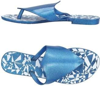 Gareth Pugh MELISSA + Toe strap sandals