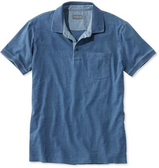 L.L. Bean L.L.Bean Men's Signature Pocket Polo, Short-Sleeve