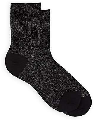 Maria La Rosa Women's Wool-Blend Mid-Calf Sparkle Socks