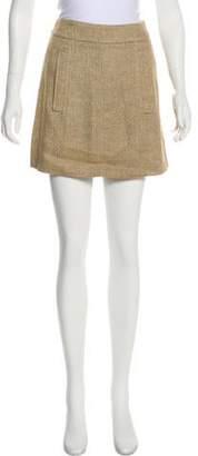 Etro Metallic Mini Skirt