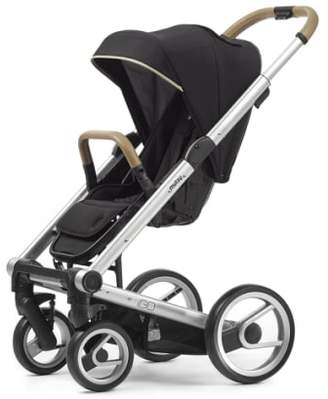 Mutsy Igo - Reflect Cosmo Black Tech Fabric Stroller