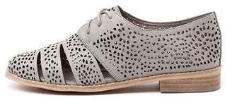 Django & Juliette New Abra Light Grey Womens Shoes Casual Shoes Flat