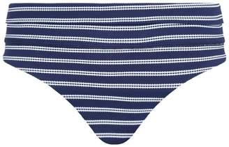 Melissa Odabash Brussels Stripe Fold Over Bikini Bottoms