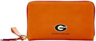 Dooney & Bourke NCAA Georgia Large Zip Around Phone Wristlet