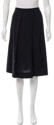 Marni Paneled Knee-Length Skirt