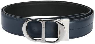 Christian Dior Belt With Iconic Metal Buckle