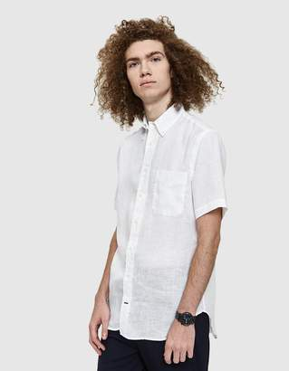 Gitman Brothers Linen Shirt in White