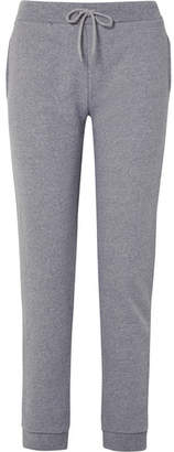 A.P.C. Maurice Cotton-blend Jersey Track Pants - Gray
