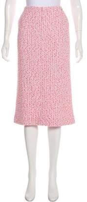 Chanel 2016 Tweed Skirt