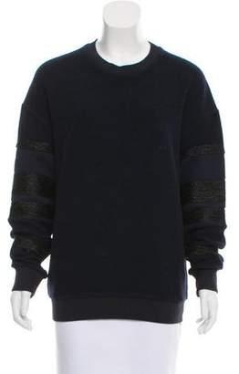 3.1 Phillip Lim Scoop Neck Long Sleeve Sweater