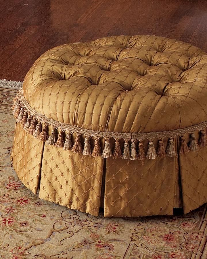 Massoud Tufted Ottoman