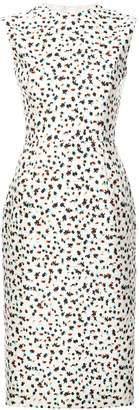 Jason Wu Collection floral print sleeveless dress