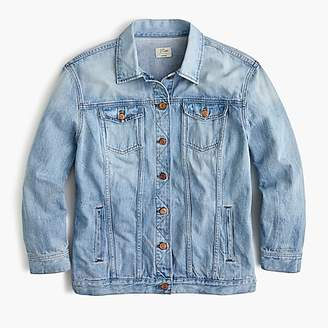 J.Crew Oversized denim jacket