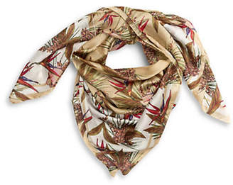 Vince Camuto Tropic Heatwave Oversized Square Scarf