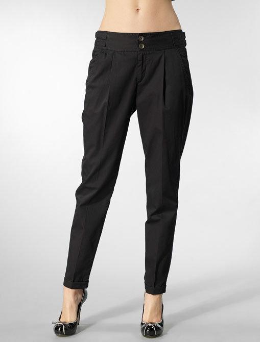 Rag & Bone Dalton Cropped Trouser in Black