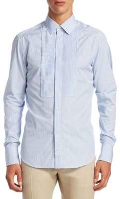 Valentino Pinstripe Cotton Button-Down Shirt