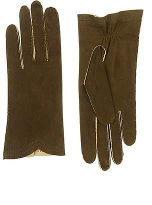 Barneys New York Women's Deerskin Gloves