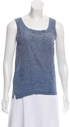 Chanel Sleeveless Printed Top
