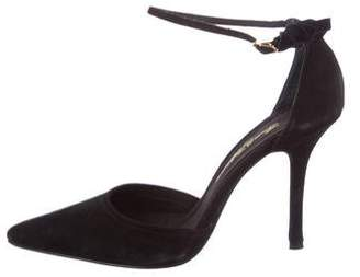 Beverly Feldman Pointed-Toe d'Orsay Pumps