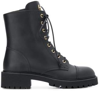 Giuseppe Zanotti Design Chris lace up ankle boots