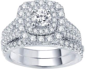 JCPenney MODERN BRIDE Modern Bride Signature 2 CT. T.W. Certified Diamond Bridal Set