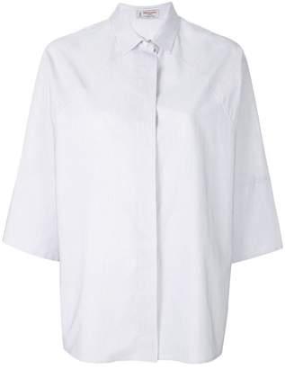 Alberto Biani pinstripe short sleeve shirt