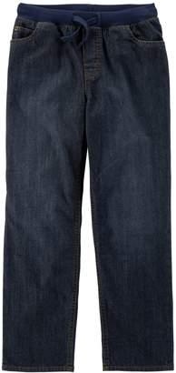 Carter's Boys 4-12 Pull On Denim Pants