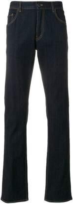 Prada raw bootcut jeans