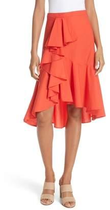 Joie Chesmu Ruffled Cotton Skirt