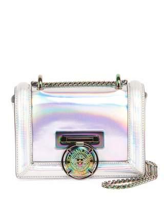 Balmain Baby Box Mirrored Shoulder Bag