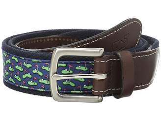Vineyard Vines Golf Greens Canvas Club Belt Men's Belts